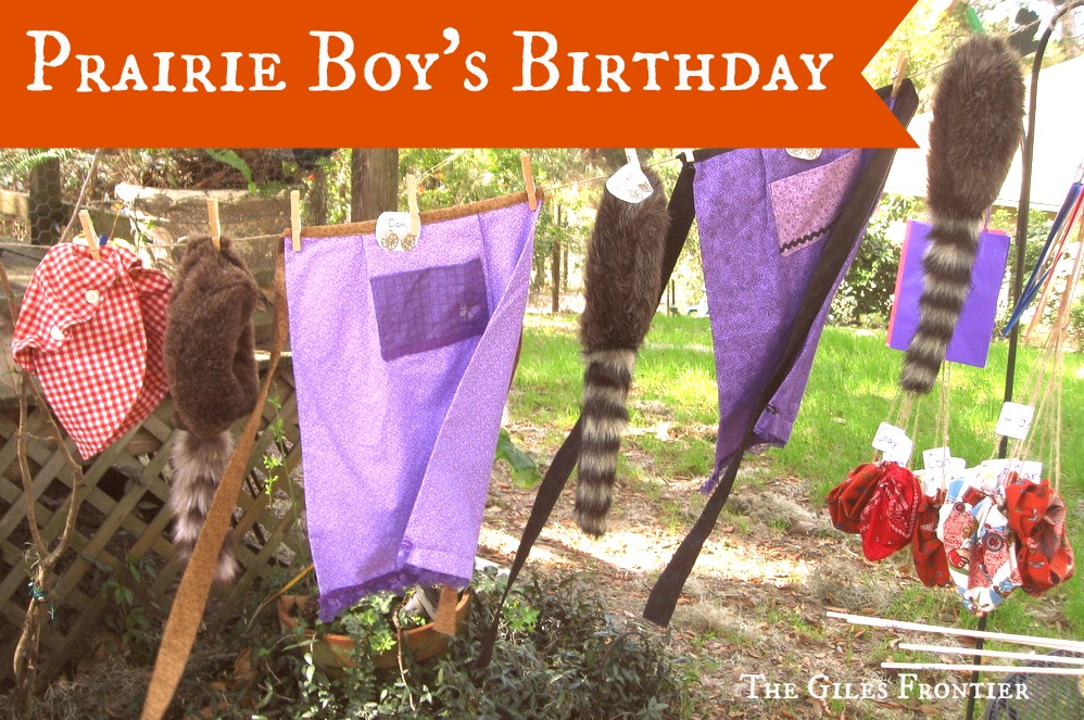prairie boy birthday