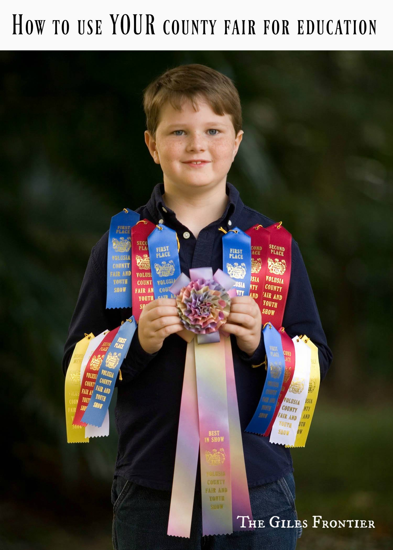 county fair ribbons