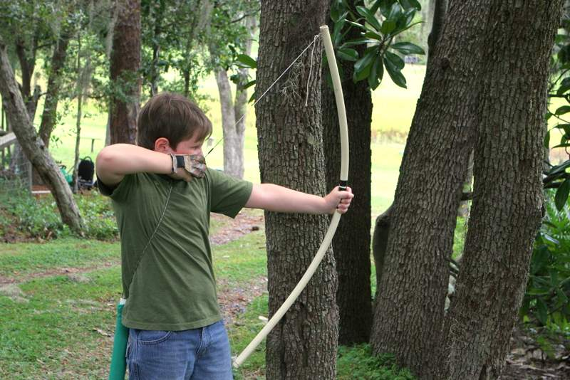 lifestyle learning making your own bow and quiver the giles frontier