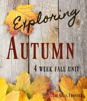 homeschool science autumn curriculum
