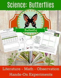 homeschool science curriculum butterflies unit