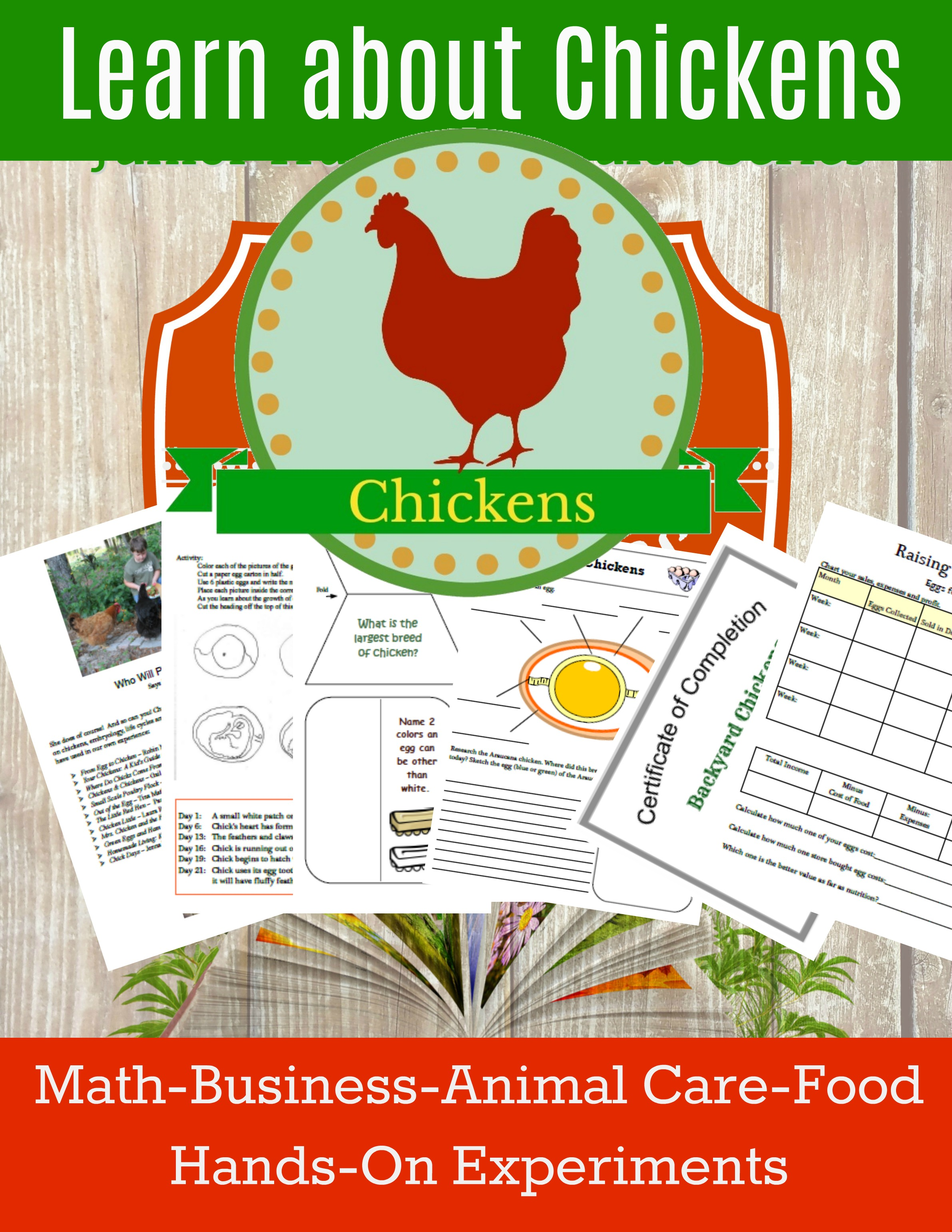 homeschool science curriculum chickens