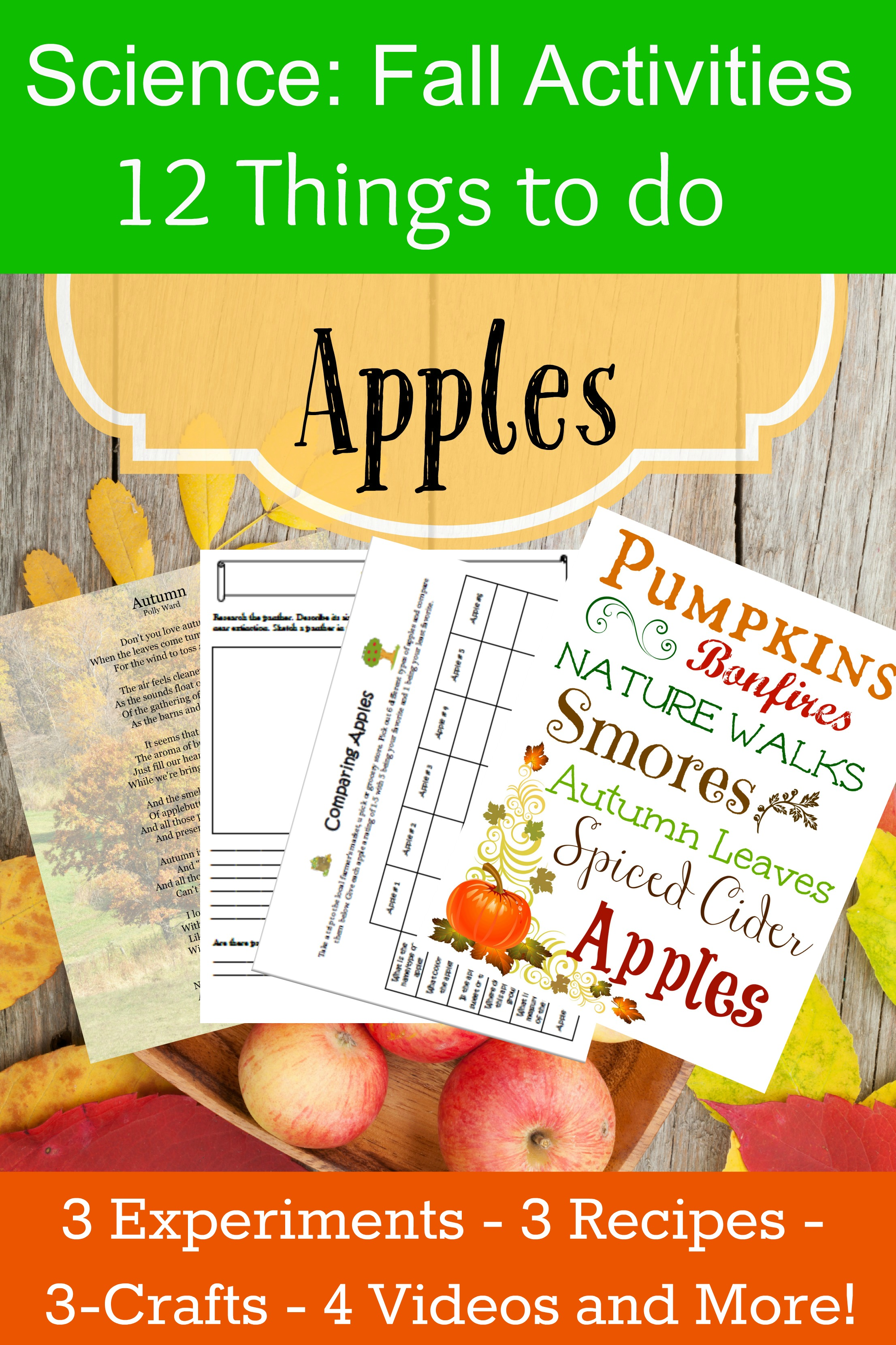 fall science curriculum